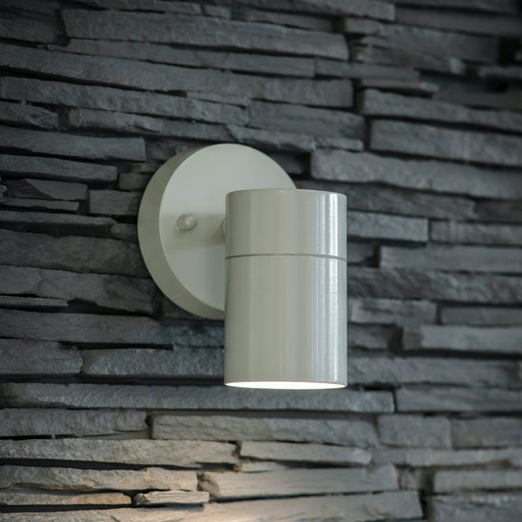 Outdoor Regent Down Light in Black or Grey | Garden Trading