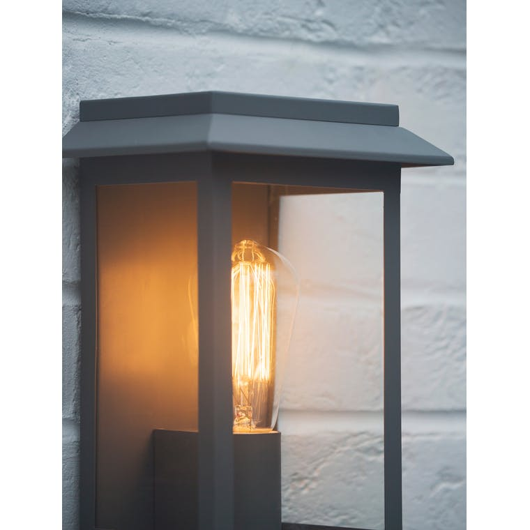 Grosvenor Outdoor Light in Grey or Bronze | Garden Trading