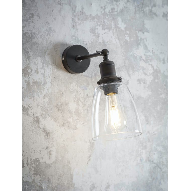 Garden Trading Hoxton Domed Wall Light in Antique Bronze