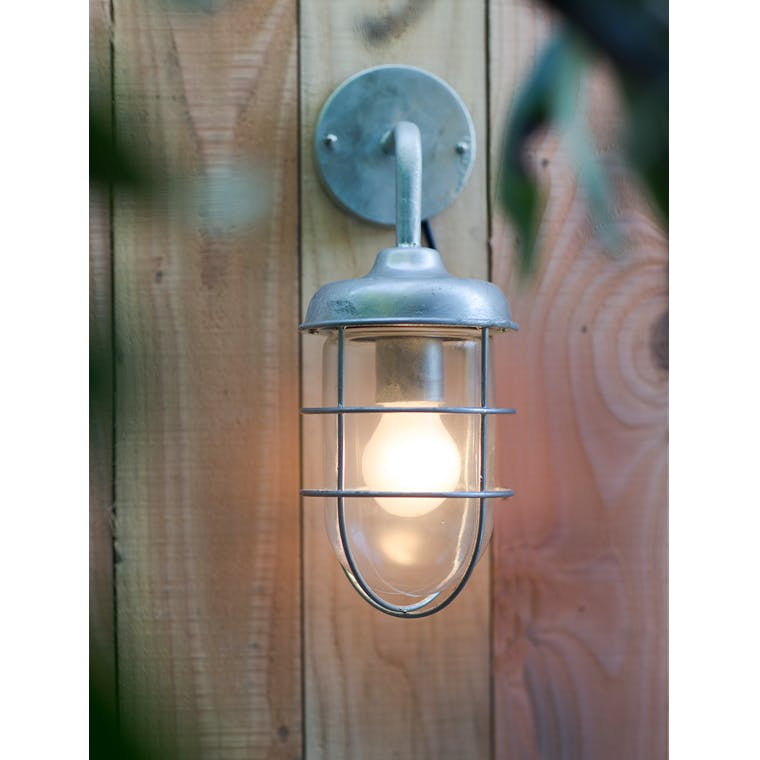 Hot Dipped Galvanised Steel St Ives Outdoor Harbour Light  | Garden Trading