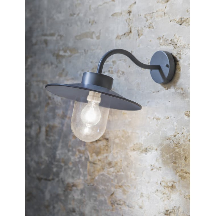 Swan Neck Light in Silver, White, Grey or Black | Garden Trading