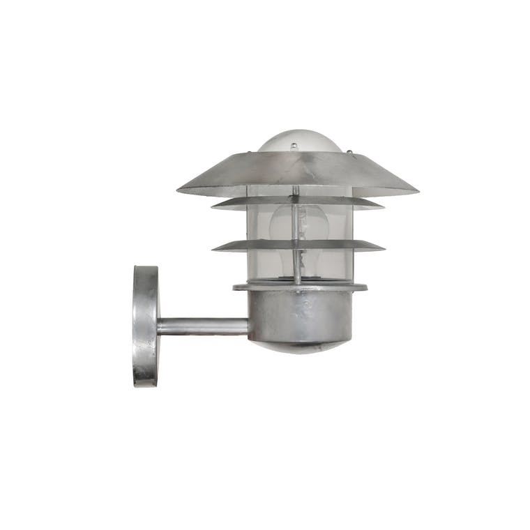 Hot Dipped Galvanised Steel St Ives Outdoor Strand Light  | Garden Trading