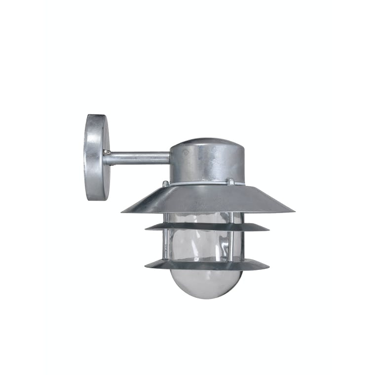 Galvanised Steel St Ives Strand Down Light | Garden Trading