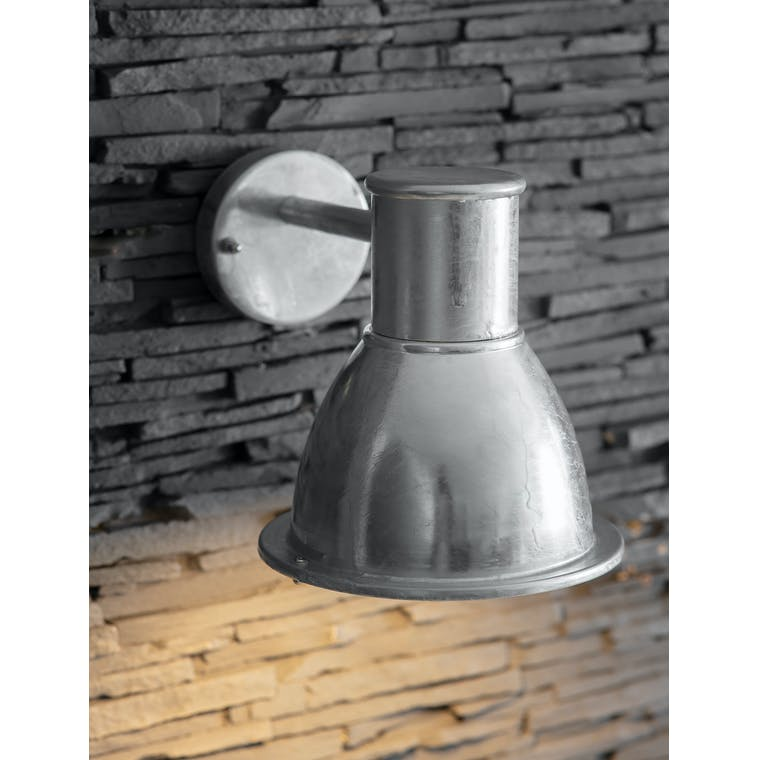 Galvanised St Ives Mini Bay Light | Garden Trading