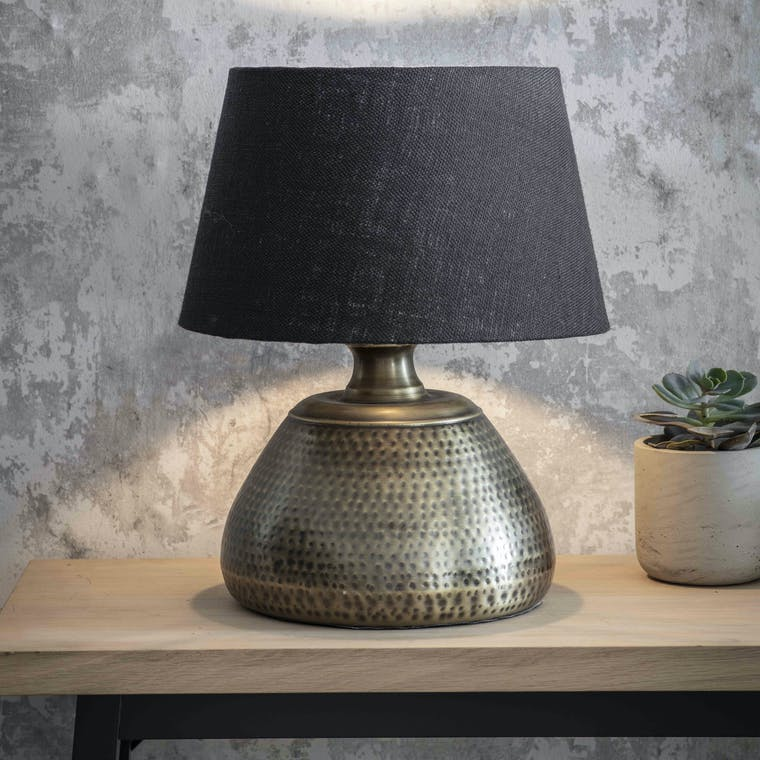 Kielder Table Lamp in Small or Large | Garden Trading