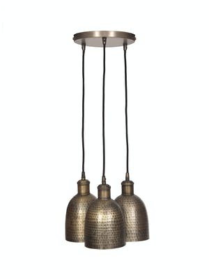 Trio of Kielder Cluster Pendant Light