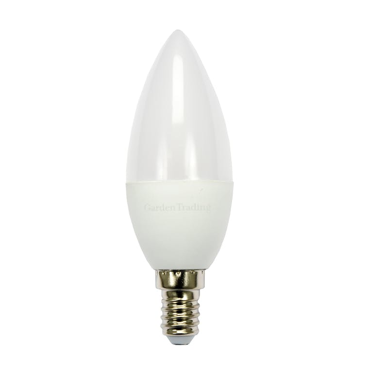 LED E14 5.5W Candle 2700K Light Bulb  | Garden Trading