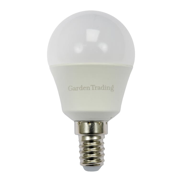 LED E14 Golf Ball 5.5W 2700K Light Bulb  | Garden Trading