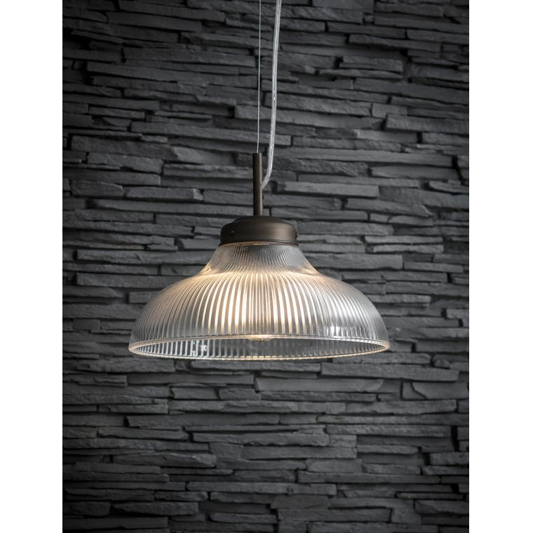 Indoor Paris Pendant Light in Silver or Bronze | Garden Trading