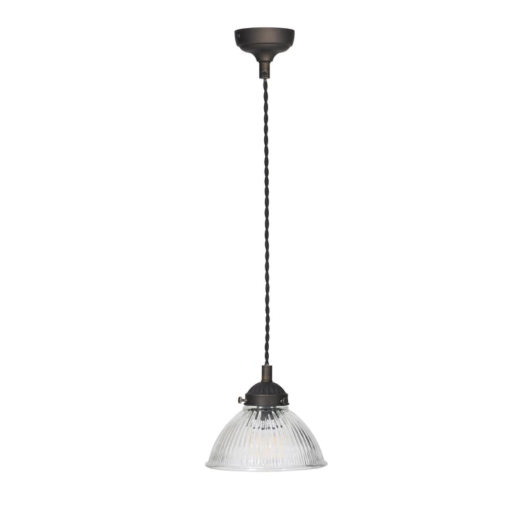 Indoor Petit Paris Pendant Light in Silver or Bronze | Garden Trading