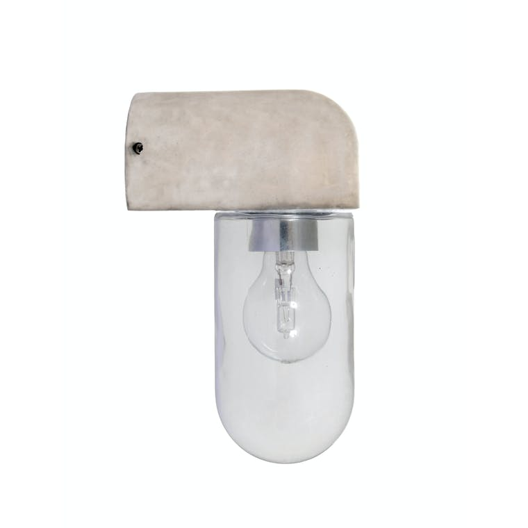 Concrete Southbank Outdoor Wall Light| Garden Trading