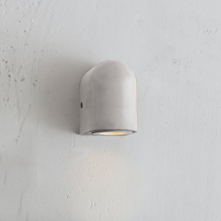 Concrete Southbank Outdoor Down Light  | Garden Trading
