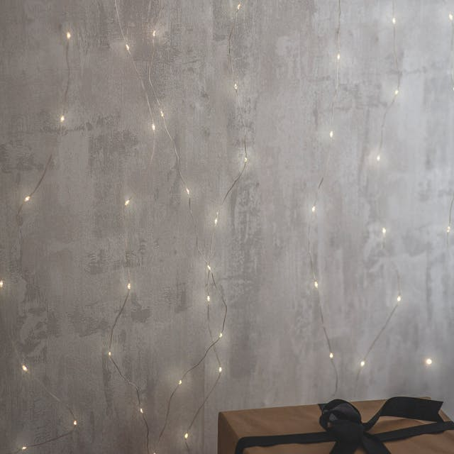 Wire Lights Curtain