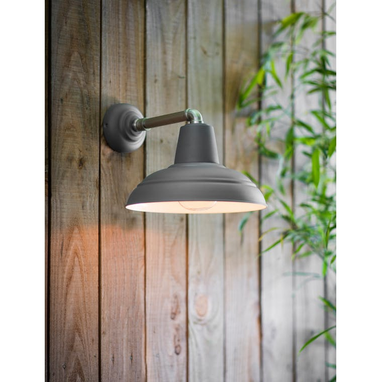 Garden Trading Southwark Outdoor Light Charcoal