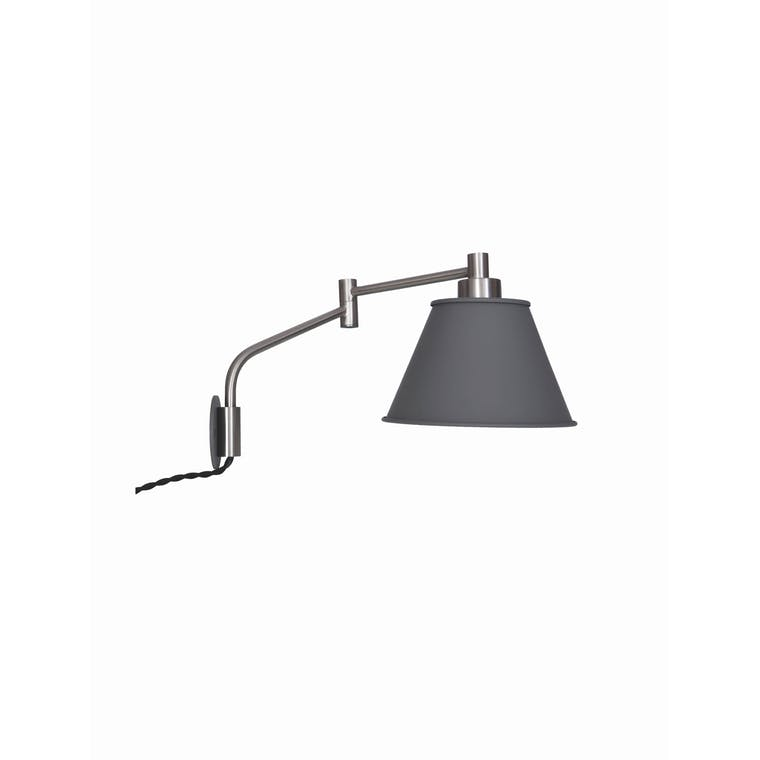 Westport Indoor Wall Light in Grey | Garden Trading