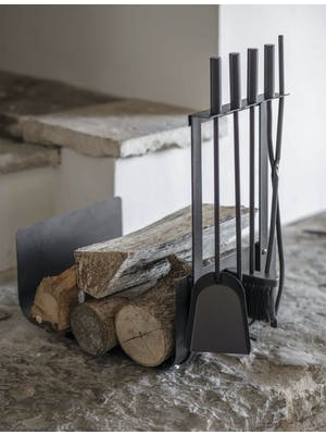 Stanton Log Holder with Set of 4 Tools