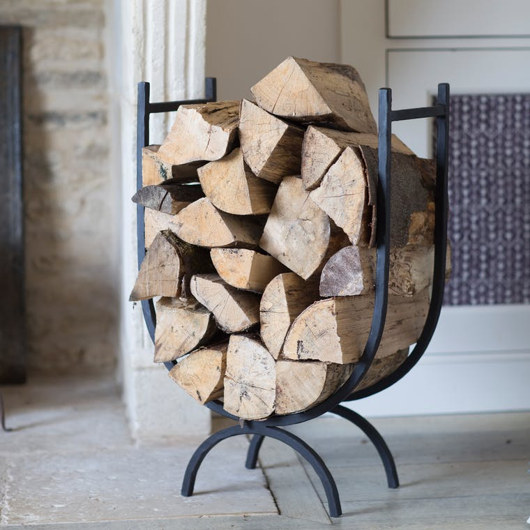 Curved Log Holder