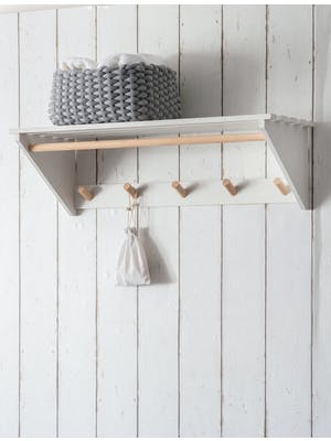 Melcombe Slatted Laundry Shelf