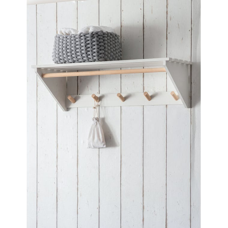 Garden Trading Melcombe Slatted Laundry Shelf