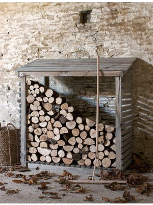 Aldsworth Log Store, Wide