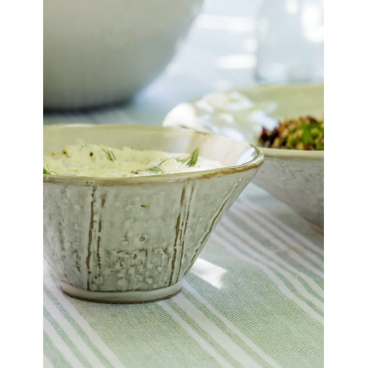 Ceramic Ithaca Meze Bowl with Spoon | Garden Trading