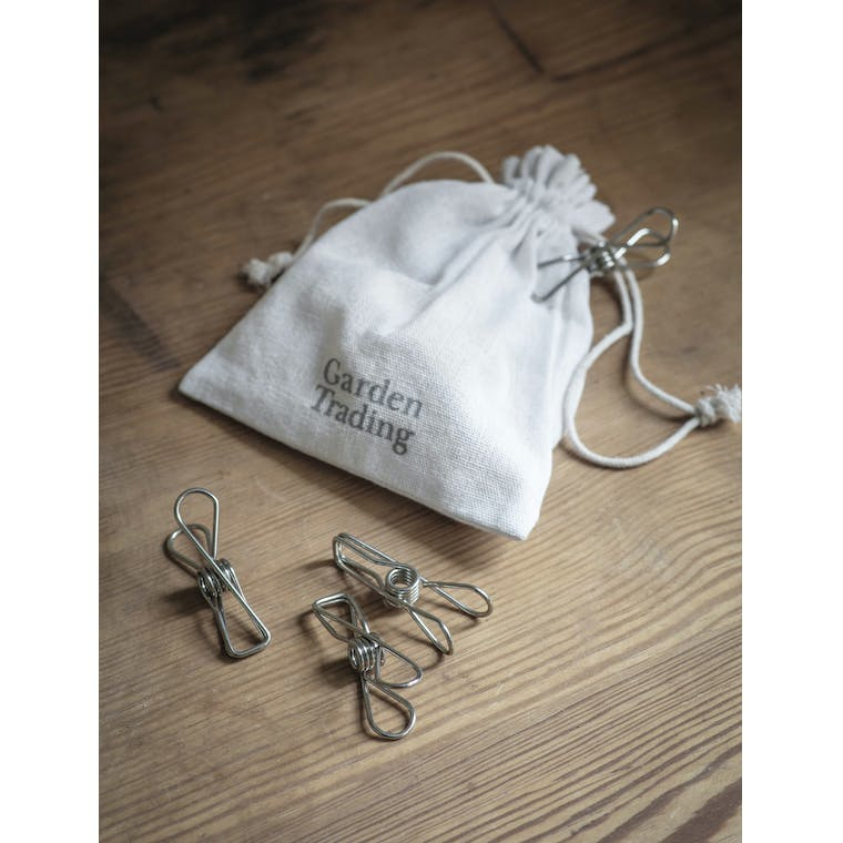 Garden Trading Metal Clips in a Bag