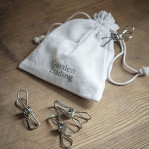 Metal Clips in a Bag