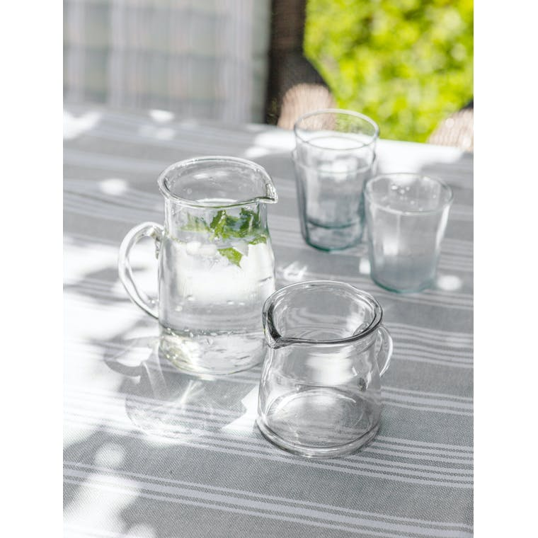 Glass Meze Jug in Small or Large | Garden Trading