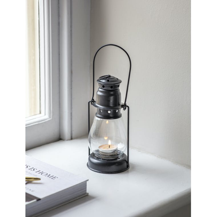 Garden Trading Small Miners Lantern in Carbon