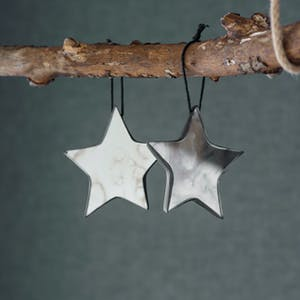 Pair of Mirrored Stars