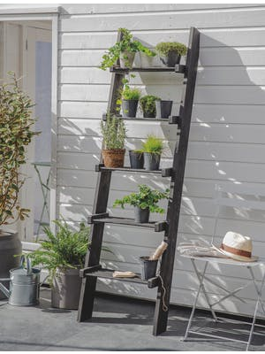 Moreton Slatted Shelf Ladder