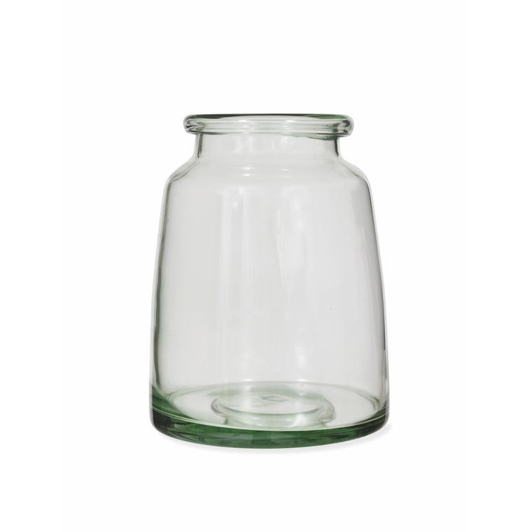 Recycled Glass Mickleton Vase in Small, Medium or Large | Garden Trading