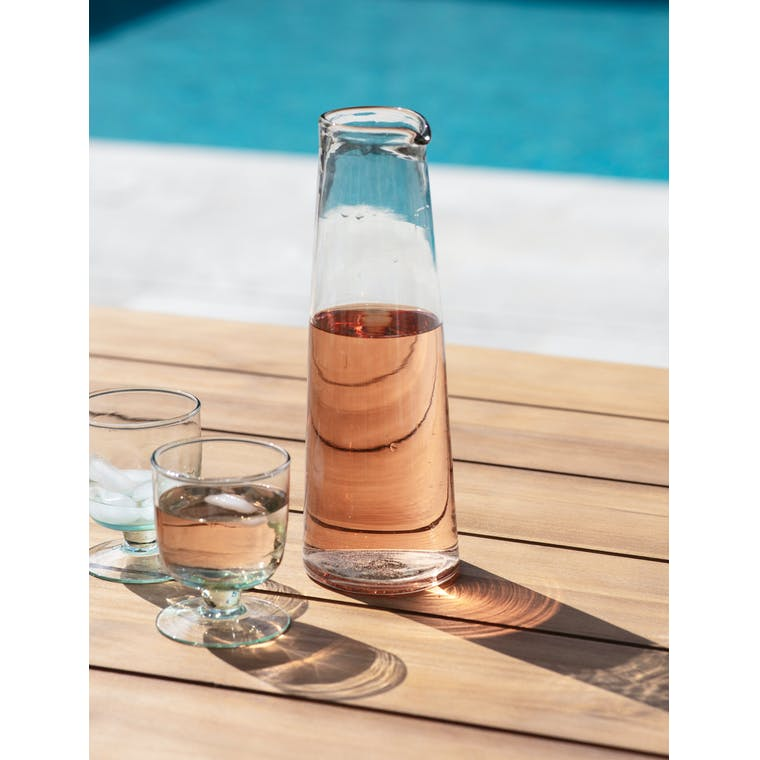 Glass Meze Wine Carafe in Small or Large   Garden Trading