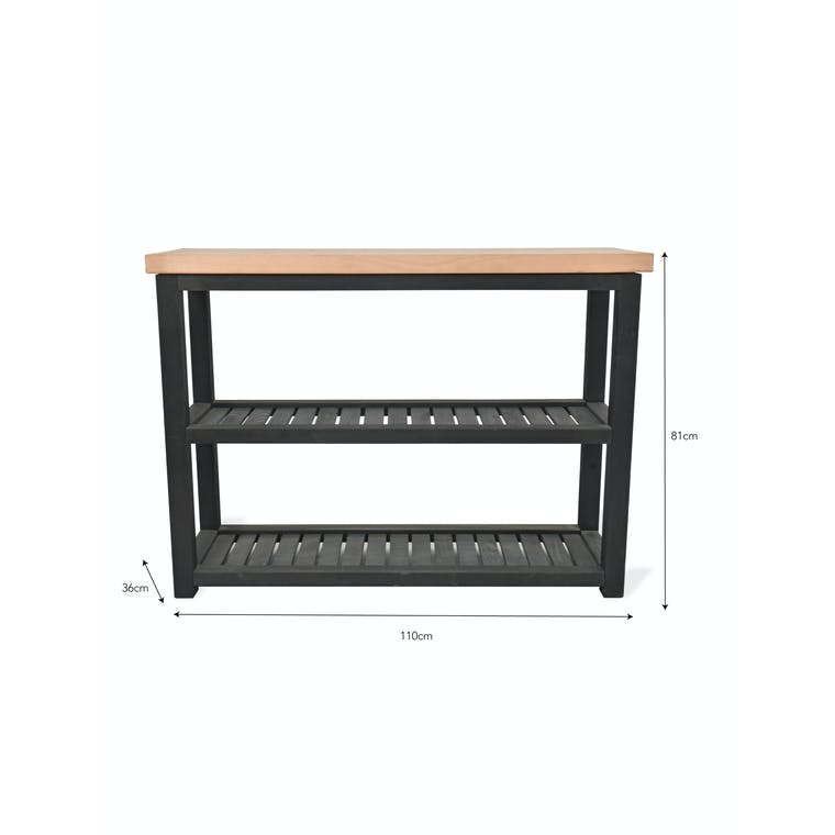 Wooden Notgrove Console Table | Garden Trading