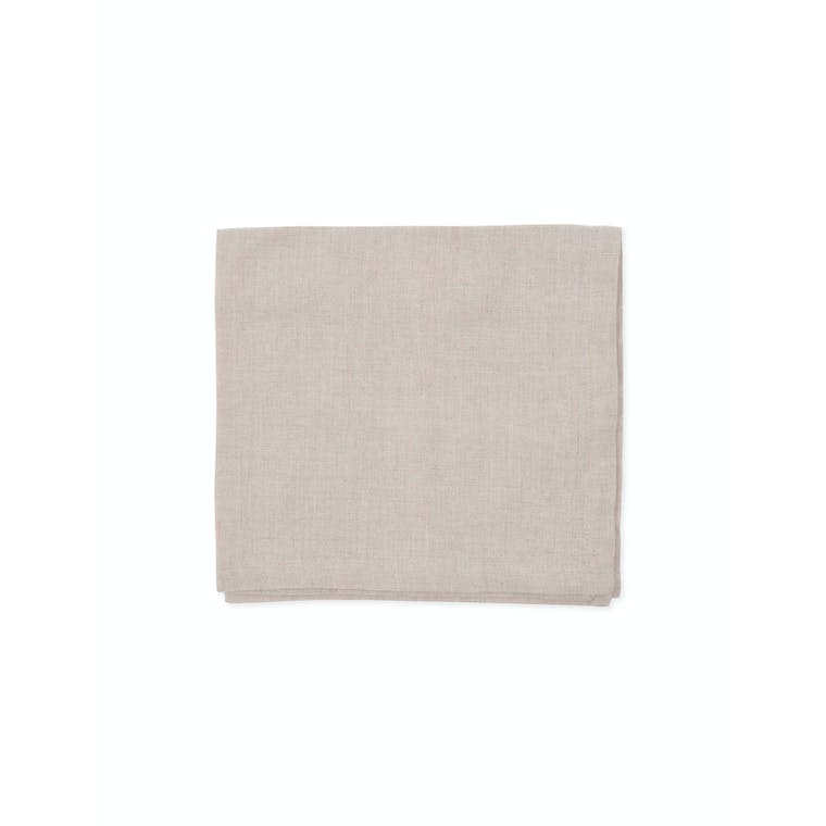 Linen Set of 4 Napkins in Natural, Blue or Pink | Garden Trading