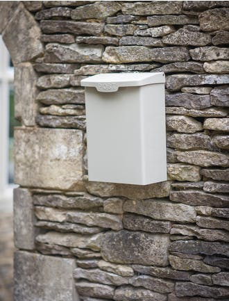 Post Boxes Parcel Store Wall Mounted Garden Trading