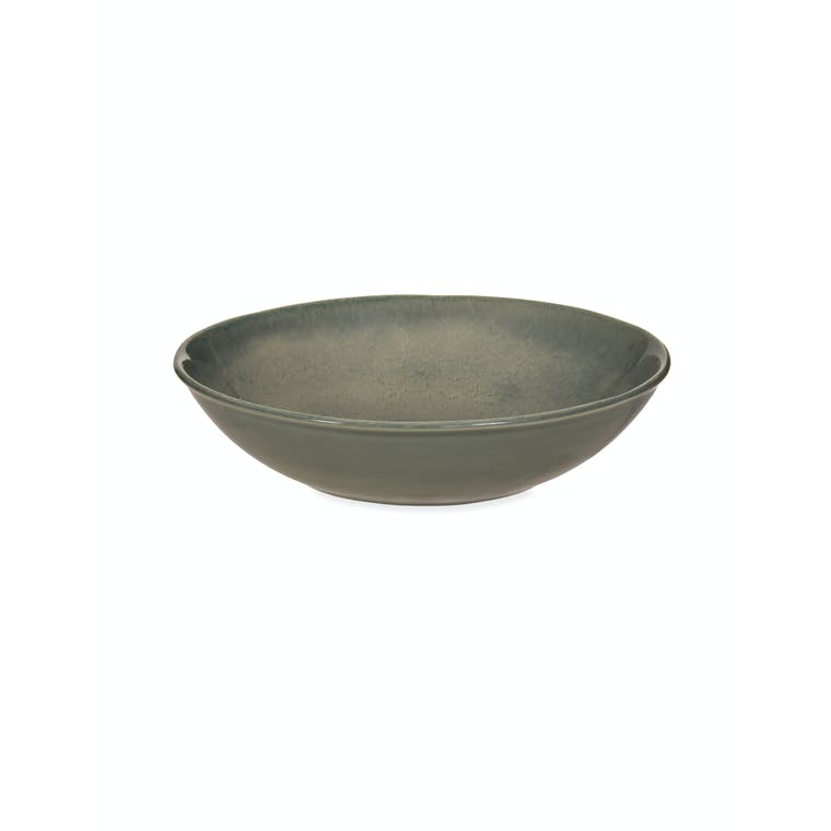 Ceramic Winderton Pasta Bowl in Blue or Green | Garden Trading