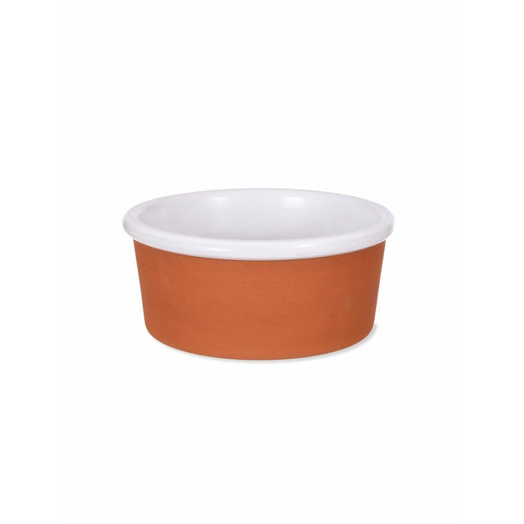 Red Stoneware Kemerton Pet Bowl in Small or Large