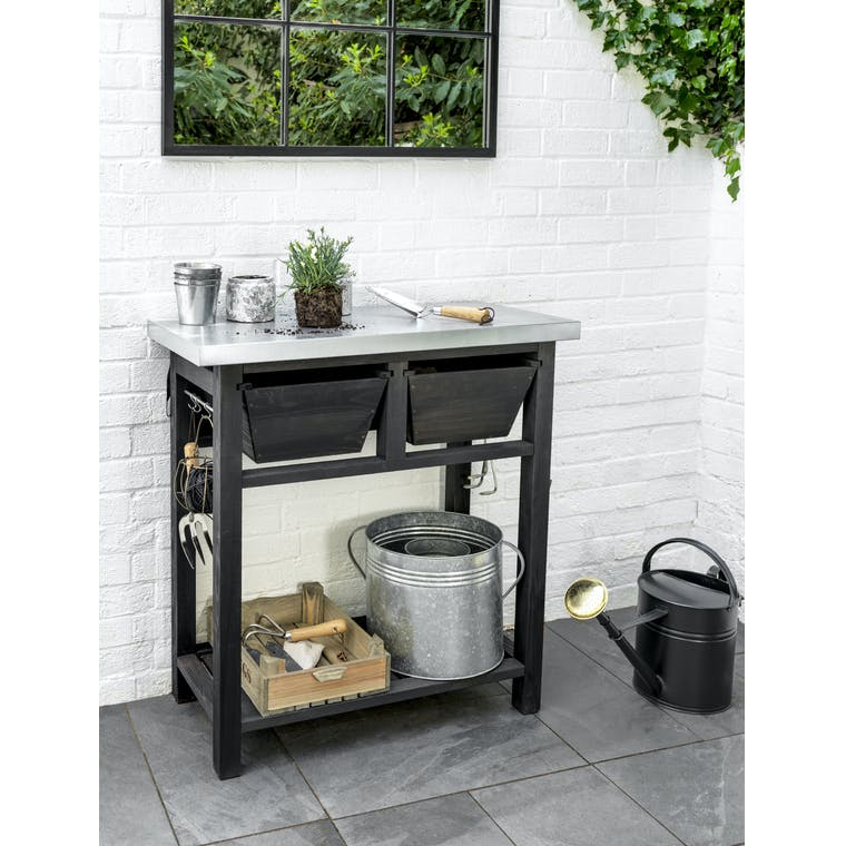 Wooden Moreton Potting Bench | Garden Trading