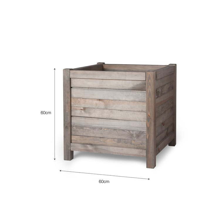 Wooden Planter in Small or Large | Garden Trading