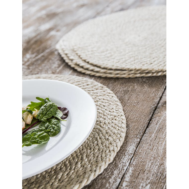 Woven Jute Set of 4 Placemats | Garden Trading