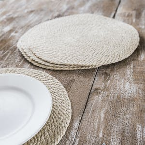 Set of 4 Jute Placemats