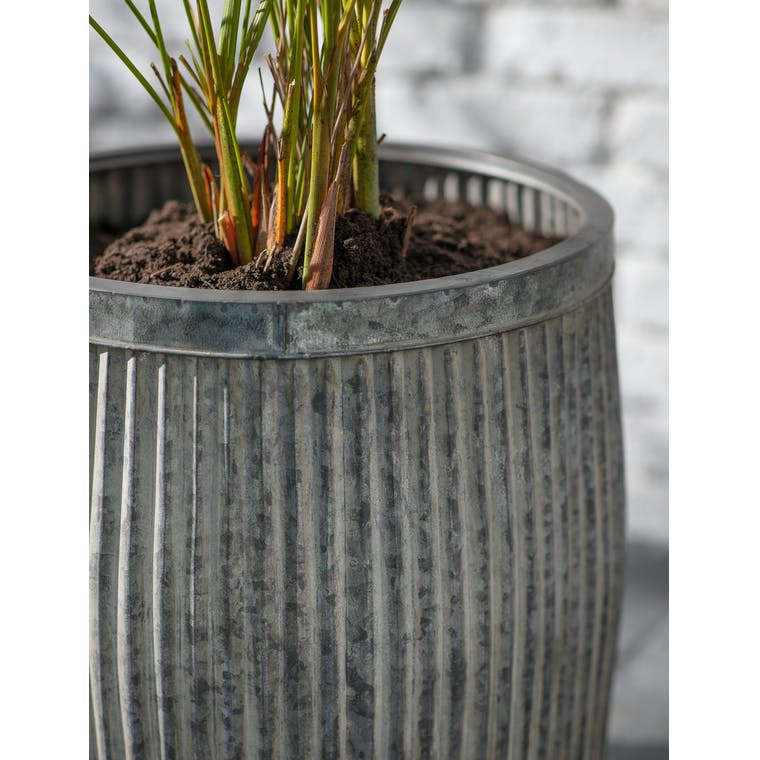 Steel Tall Vence Planter in Small or Large | Garden Trading