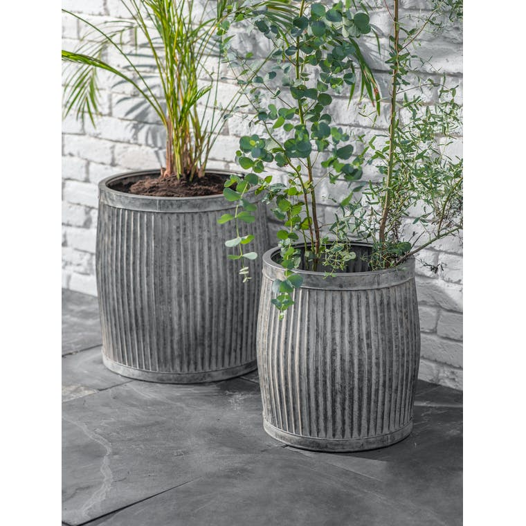 Steel Tall Vence Planter in Small or Large   Garden Trading