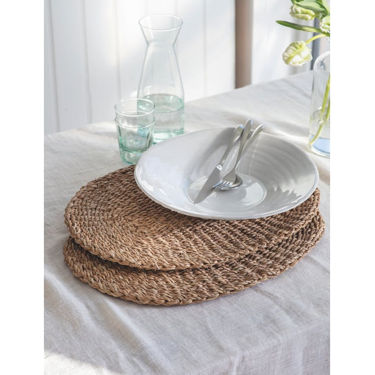 Pair of Brading Table Mats by Garden Trading