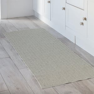 Pemba Mat in Powder Green