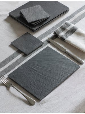 Set of 4 Slate Placemats