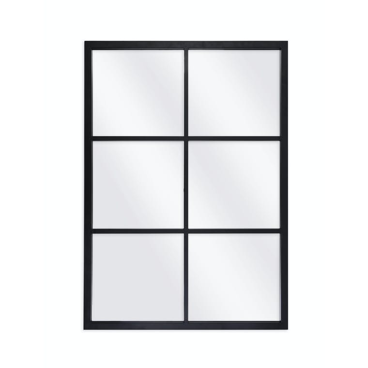Indoor Outdoor Fulbrook Black Mirror in 100x70cm, 120x80cm or 90x90cm | Garden Trading