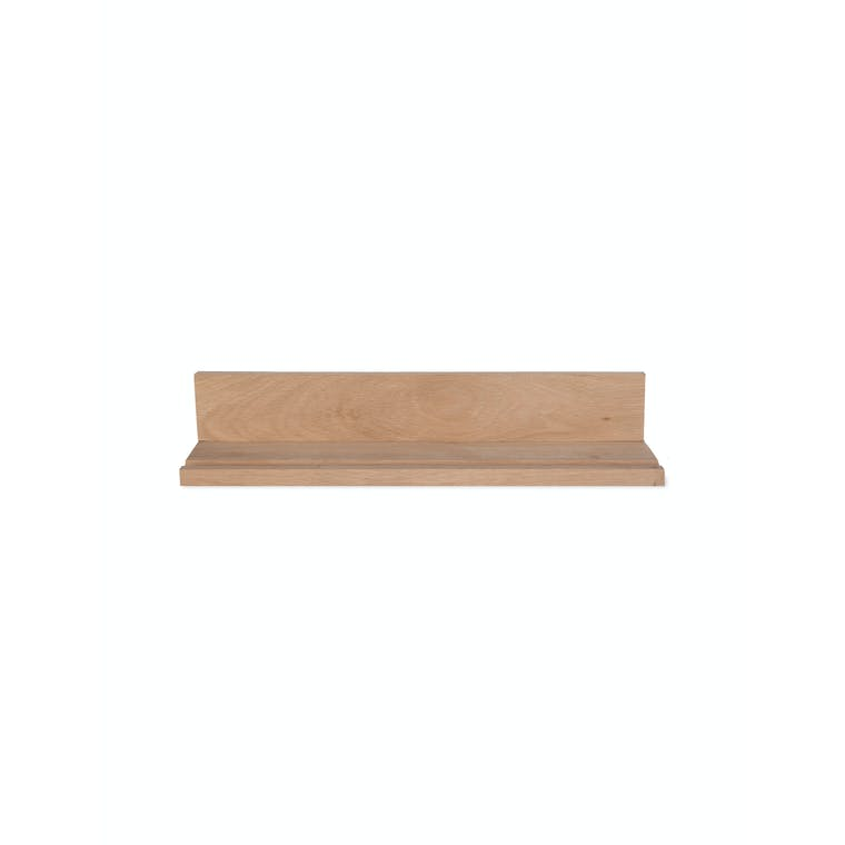 Raw Oak Hambledon Picture Shelf in Small or Large | Garden Trading