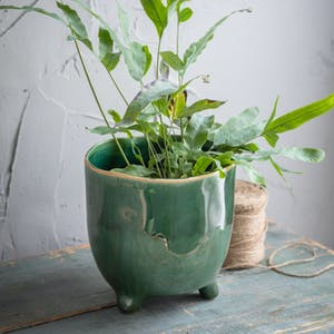 Forest Green Positano Pot
